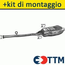 BMW 3 E36 1.8 113/113-115/115/116HP 1990-2000 Silenziatore Marmitta Posteriore+