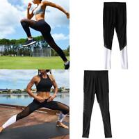 New Women Yoga Pants Lady Fitness Leggings Running Gym Exercise Sports Trousers