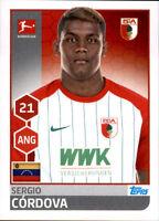 TOPPS Bundesliga 2017/2018 - Sticker 18 - SergioCordova