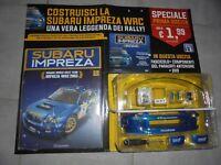 RALLY HACHETTE COSTRUISCI LA SUBARU IMPREZA WRC 2003 + FASCICOLO + DVD SCALA 1:8