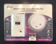 Kidde KN-COPP-3 AC Plug-In Carbon Monoxide Detector & i9040 Smoke Alarm. New!
