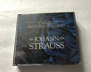 Reader's Digest Johann Strauss 3-CD Set NEW Favourites From The Classics 1992