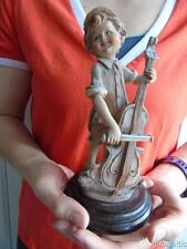 "Vintage Giuseppe Armani Florence Gulliver's World Figurine of Boy with Cello 7"""