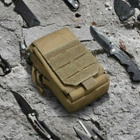 Outdoor EDC Tactical Molle Pouch Military Waist Belt Bag Tool Bag Holder Pack