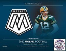 Kansas City Chiefs 2020 Panini Mosaic Hobby Football 1/3 Case 4Box Break #2