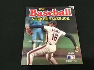 1984 Edition Topps Baseball Sticker Yearbook - Dwight Gooden Cover - Unused