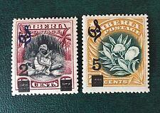 Liberia 1914 MNH OG Overprint