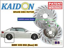 "BMW 335i E92 disc rotor KAIDON (Rear) type ""BS"" / ""RS"" spec"