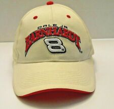 Mens DALE EARNHARDT JR #8 hat baseball cap white Adjustable Strap