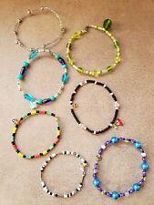 lot of seven Ankle bracelet women