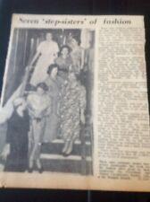 71-5 Ephemera 1957 Picture Faversham And Thanet Co Op Margate Sales Women Show