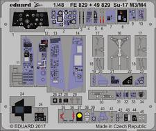 EDUARD ZOOM FE829 Detail Set for KittyHawk Kit Su-17M3/M4 in 1:48