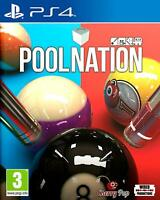 Pool Nation For PS4 (New & Sealed)