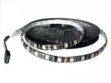 5M 5050 300leds Strips Lights PCB Black Waterproof RGB SMD Outside 60led/M 12V