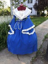 Civil War Dress Sass Victorian Dickens Prairie Costume Renaissance Festival