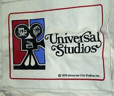1976 UNIVERSAL CITY STUDIOS HOLLYWOOD CALIFORNIA (MOVIE CAMERA) CANVAS BAG