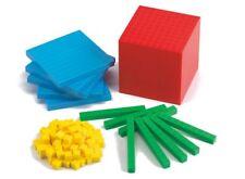 MAB Base Ten Maths Blocks Student Pack 121 Pieces Teacher Resource Primary Kids
