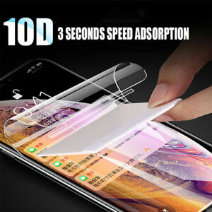 For Samsung S10E S10 Plus 10D Full  Hydrogel Gel Screen Protector Guard Saver