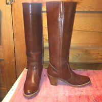 Vintage FRYE Western Ladies Ladies Western Leder Stiefel 7 1 2