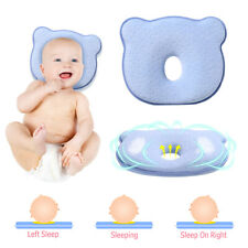 Baby Newborn Infant Pillow Soft Memory Foam Sleeping Prevent Flat Head Anti Roll