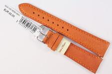 MORELLATO: Uhrenarmband 20mm weiches Kalbsleder Orange Handgefertigt UVP: 22€