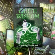 """Earth Wisdom Stunning Colorful Celtic-Themed Oracle Cards Approximately 3"""" x 4"""""""