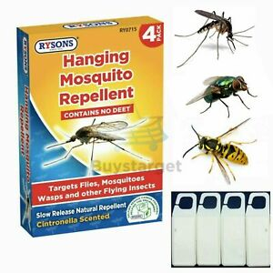 🔥4x Insect Mosquito Flytrap Wasp Bug Natural Repellent Hanging Pest Scent UK
