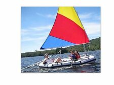 Sail kit for Navigator or Cheyenne Inflatable Raft.  Boat not included.