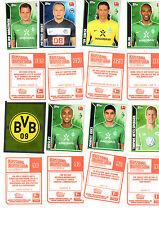 10 Topps Bundesligasticker 11/12 aus 388 auswählen 2011/2012