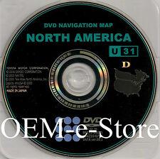 2006 2007 2008 2009 Lexus IS250 IS350 IS F Navigation DVD Map U31 U.S & Canada