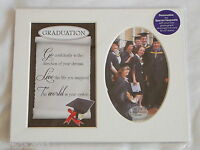 GRADUATION MOUNT KEEPSAKE PHOTO FRAME GIFT PRESENT EXAM PHOTOGRAPH DEGREE MASTER
