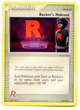 Rocket's Hideout 87/109 Non Holo Trainer EX Team Rocket Returns x 3 NM+