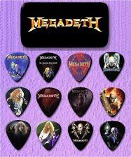 MEGADETH  Guitar Pick Tin Includes a Set of 12 Guitar Picks