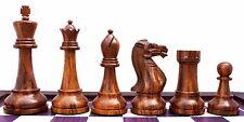 "Verona Series Premium Staunton 4"" Chessmen in Golden Rose Wood & Box Wood"