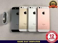 Grado B Apple iPhone se 16GB 64GB 128GB Desbloqueado Plateado Rosa Oro Negro A1723