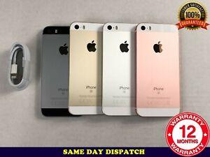 Grade B Apple iPhone SE 16GB 32GB 64GB 128GB Unlocked All Colours A1723
