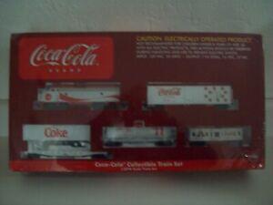 Athearn Coca Cola Collectable Train set  / Sealed!