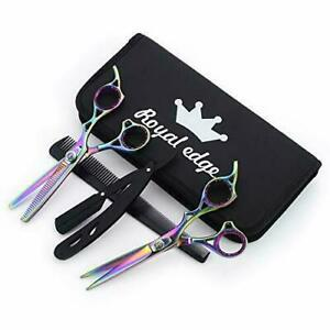 Hairdressing  Professional Thinning Barber Scissors Set 6.5 Inch Royal Edge