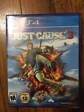 Just Cause 3 - Standard Edition (PlayStation 4, 2015) Brand NEW