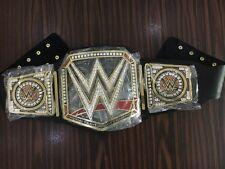 WWE universal championship replica adult belt Gold metal plates