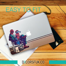 Deadpool macbook wrap cover-confirmer macbook type-macbook 13,15,11 stickers