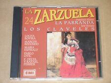 RARE CD / ZARZUELA 24 / LA PARRANDA + LOS CLAVELES / EXCELLENT ETAT