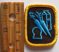 Girl Guide Canadian 1990's Brownie FOOD FUN OUTLOOK BADGE Cooking Patch Canada