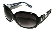New Authentic COACH JOVANA S820 BLACK 60-17-120 Sunglasses Made in China