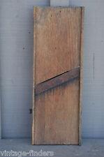 Vintage Antique Wooden Kraut Cutter Slicer Knife Primitive Farm Kitchen Tool a