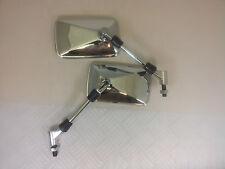 BRAND NEW CHROME E-MARKED RECTANGULAR Mirrors Suzuki Bandit GSX1400 SV650 SV1000