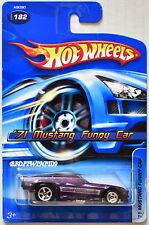 HOT WHEELS 2005 '71 MUSTANG FUNNY CAR #182 PURPLE