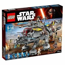 NEW Lego 75157  Star Wars Captain Rex's AT-TE 972 Pieces 2016 Walt DIsney NIB