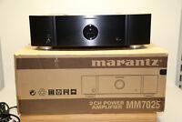 Marantz MM7025 2 Kanal 2x140 Watt High-End Endverstärker in Schwarz W.NEU/OVP