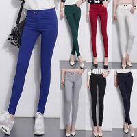 Womens Ladies Formal High Waist Long Pants Loose Casual Leggings Pencil Trousers